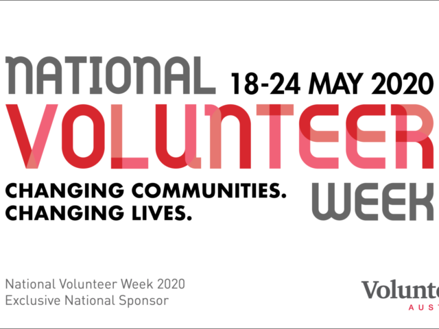 Update on National Volunteer Week 2020