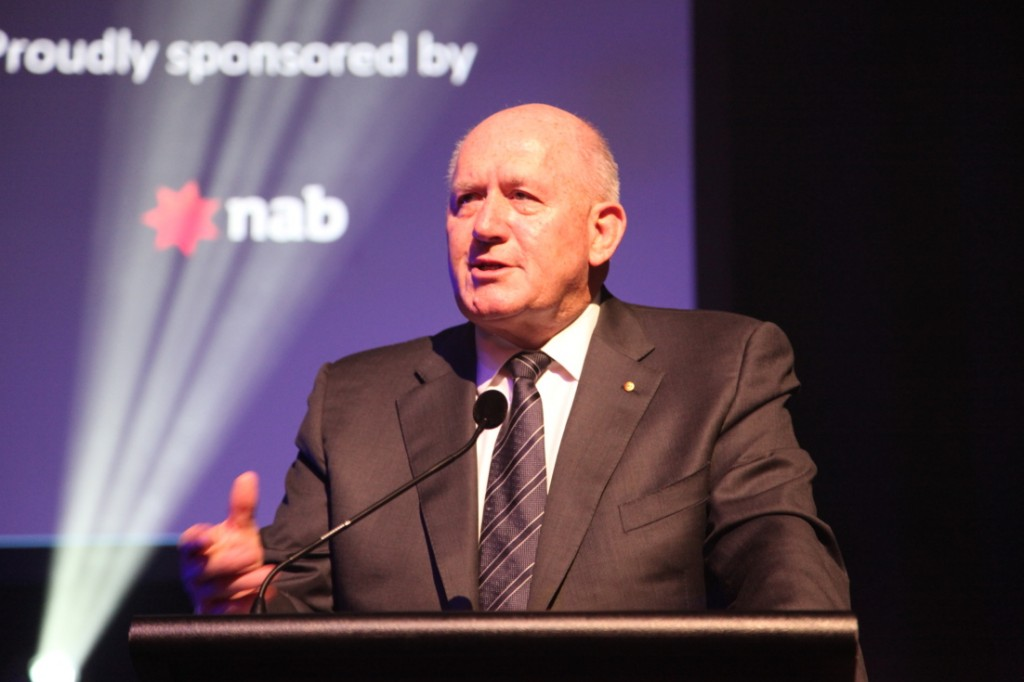 The Governor-General, HE General the Honourable Sir Peter Cosgrove was guest of honour