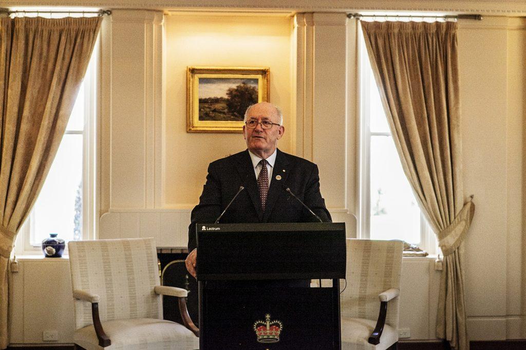 Former Governor-General General the Honourable Sir Peter Cosgrove AK MC (Retd)