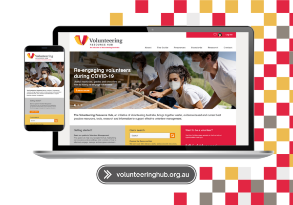New national resource hub for volunteer managers