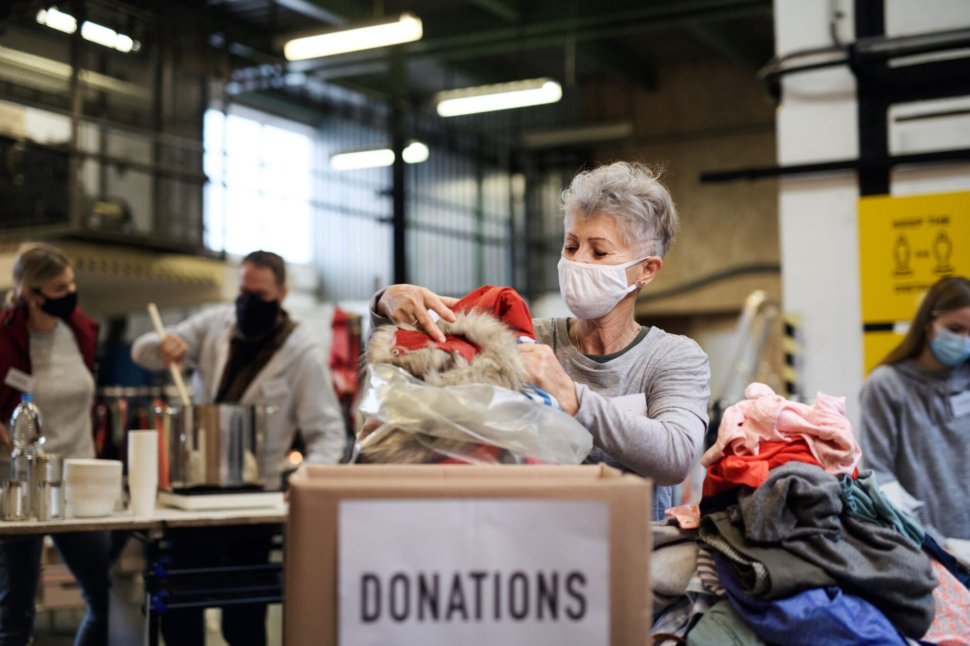 New data suggests volunteering impacted harder by COVID-19 than paid work